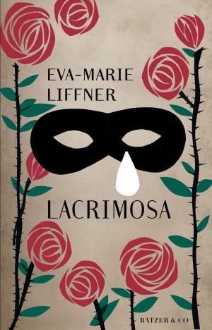 Lacrimosa Eva-Marie Liffner bogomslag bogdesign